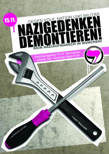 Nazigedenken Demontieren